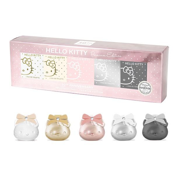 Hello Kitty 10th Anniversary Premium Miniatures Set Temptations